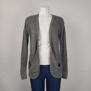 AEO Grey Knit Cardigan Size S